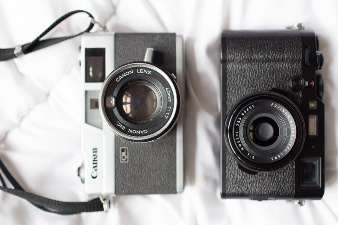 A Canon QL vs the Fuji X100F. Canon 6D, 35mm f/1.4