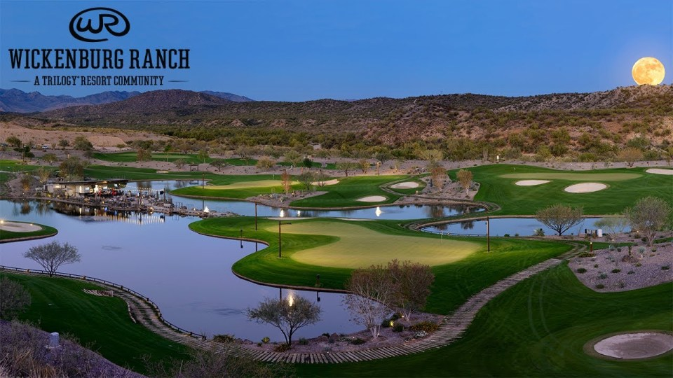 Wickenburg Ranch has four holes lit by floodlight so you can keep the experience going after dark.
