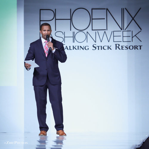 Brian Hill at Phoenix Fashion Week 2017