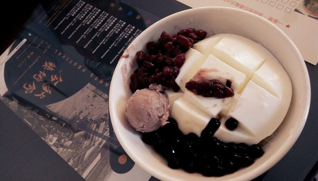 友善環境店家_鹿港烏婆鮮奶豆腐冰(陳燕妃攝)