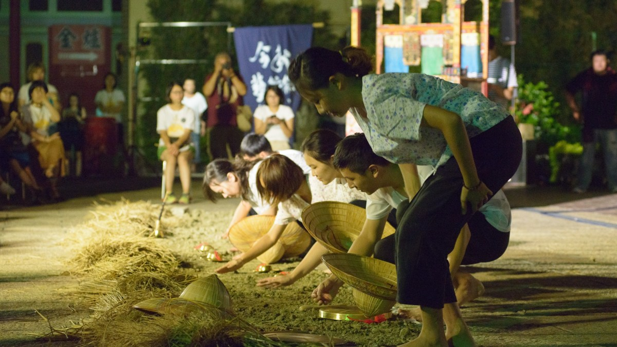 2016 《種子落地》演出。 圖/今秋藝術節 提供