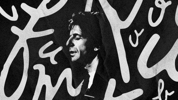 Leonard Cohen font