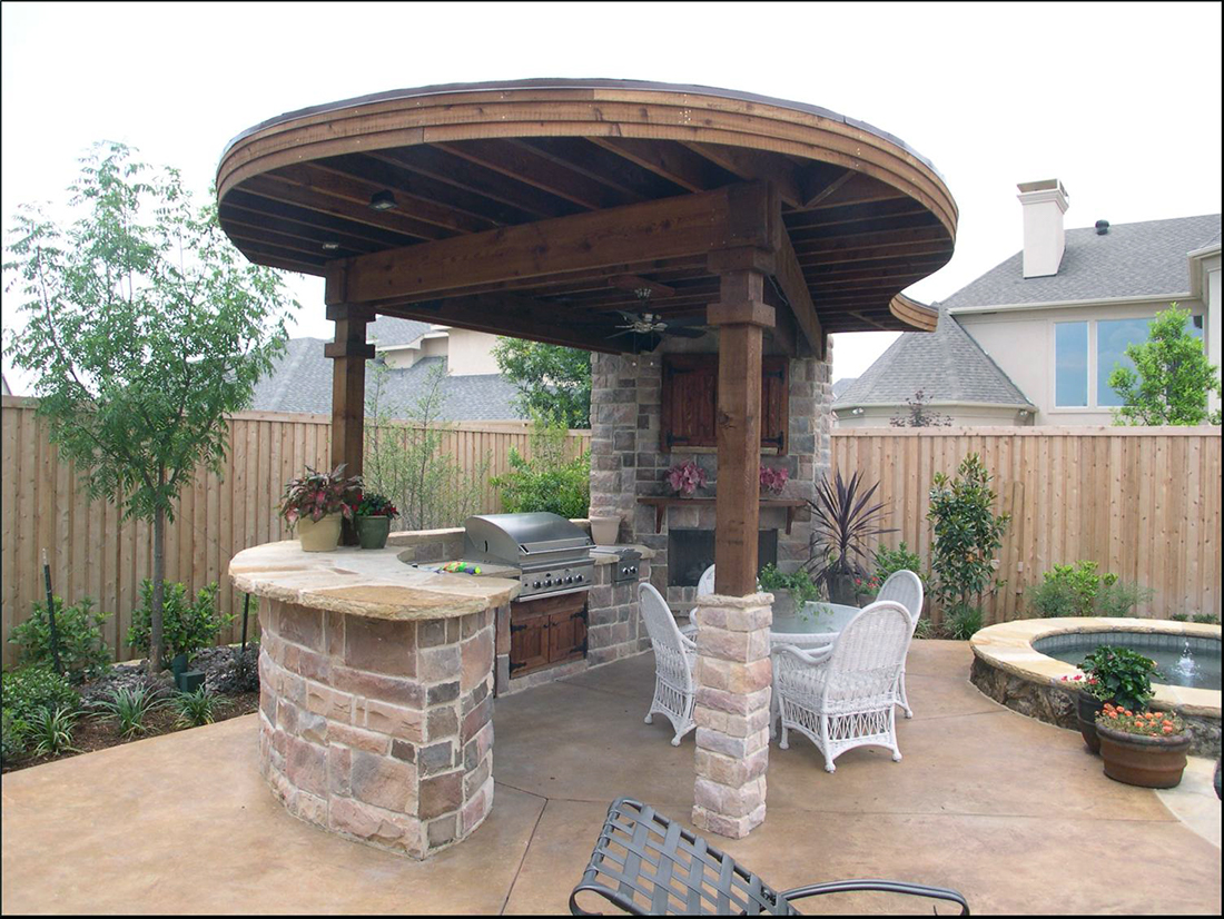 Outdoor Living - BMR Pool & Patio on Outdoor Grill Patio id=71866