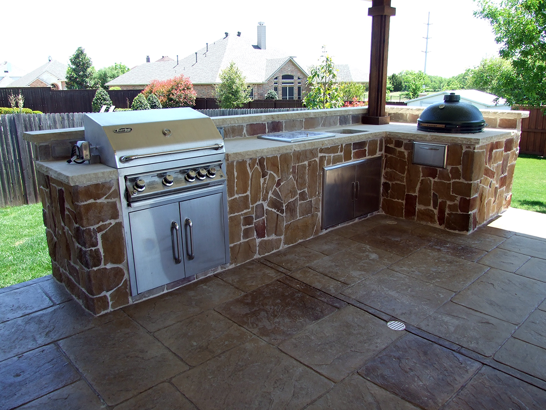 Outdoor Living - BMR Pool & Patio on Outdoor Grill Patio id=16577