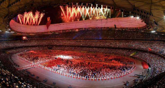 Live Blogging: 2008 Beijing Olympic Games Opening Ceremony ...
