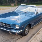 For Sale 1964 1 2 Ford Mustang Convertible Blue 260ci V8 3 Speed Auto Stangbangers