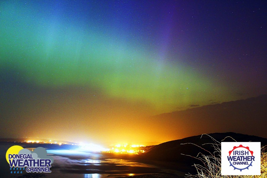 Donegal Weather Channel   News   NORTHERN LIGHTS UPDATE FOR IRELAND     NORTHERN LIGHTS UPDATE FOR IRELAND AND THE UK TONIGHT