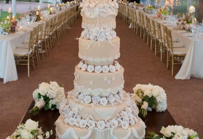 Five Fabulous Wedding Cake Creations Wedpics Blog