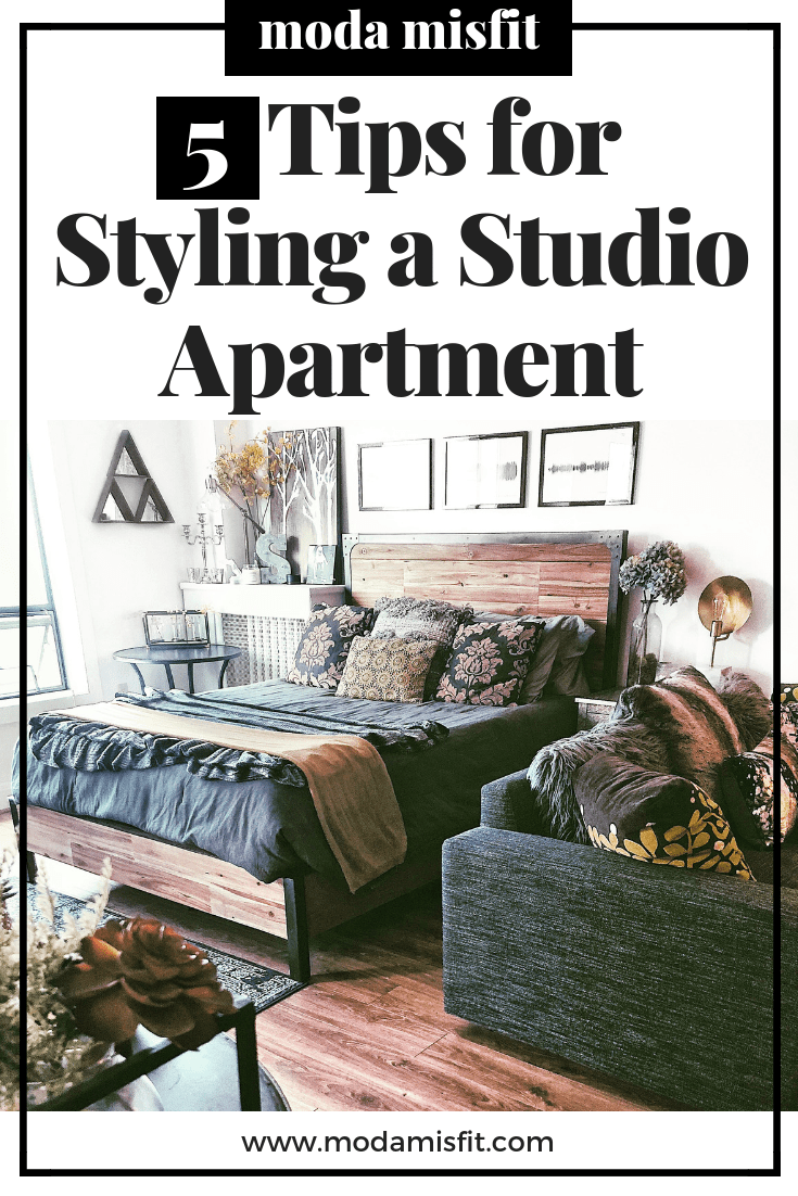 5 tips for styling a studio apartment png