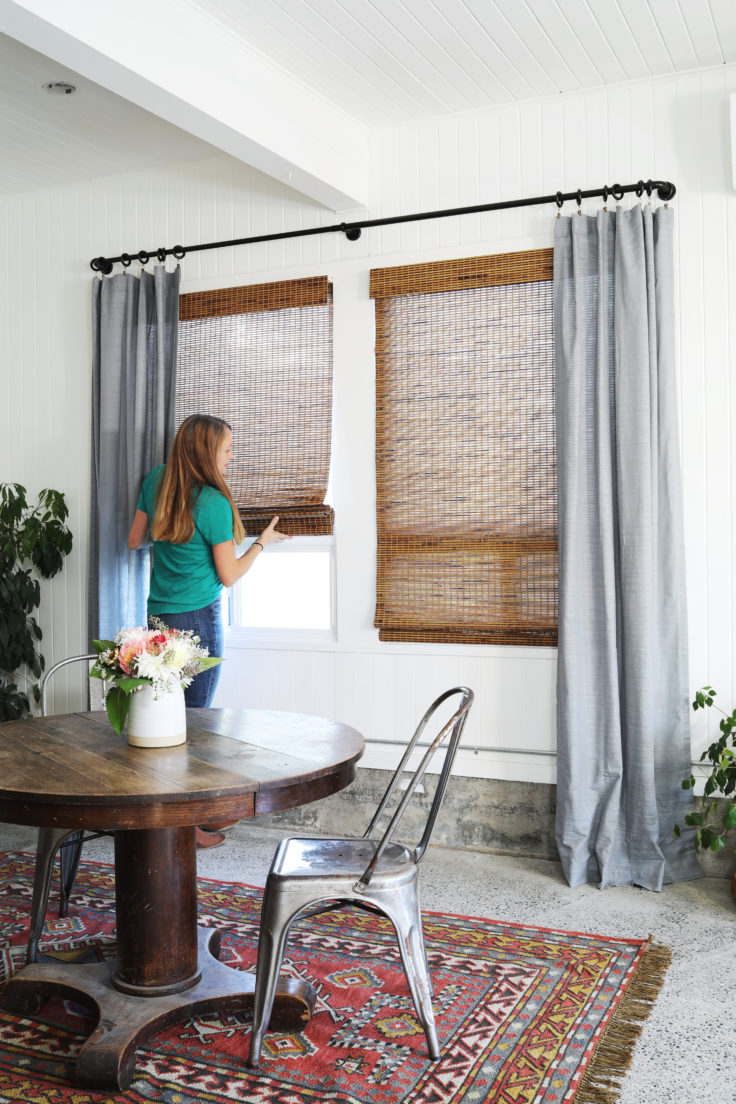 Tacoma Converted Garage Window Treatments With Lowe S