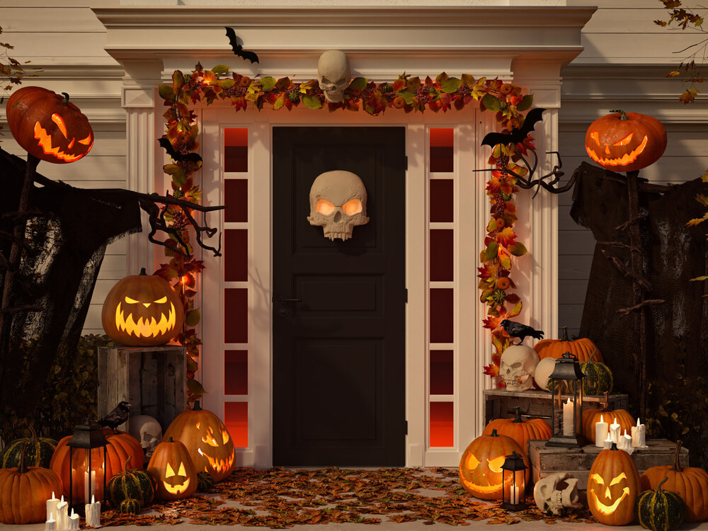 Julia layton as the weather turns cool, home decor turns downright spooky. How To Have A Safe But Fun Halloween At Your House Matt Carlson M Carlson Painting