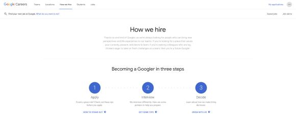 How Google hire?