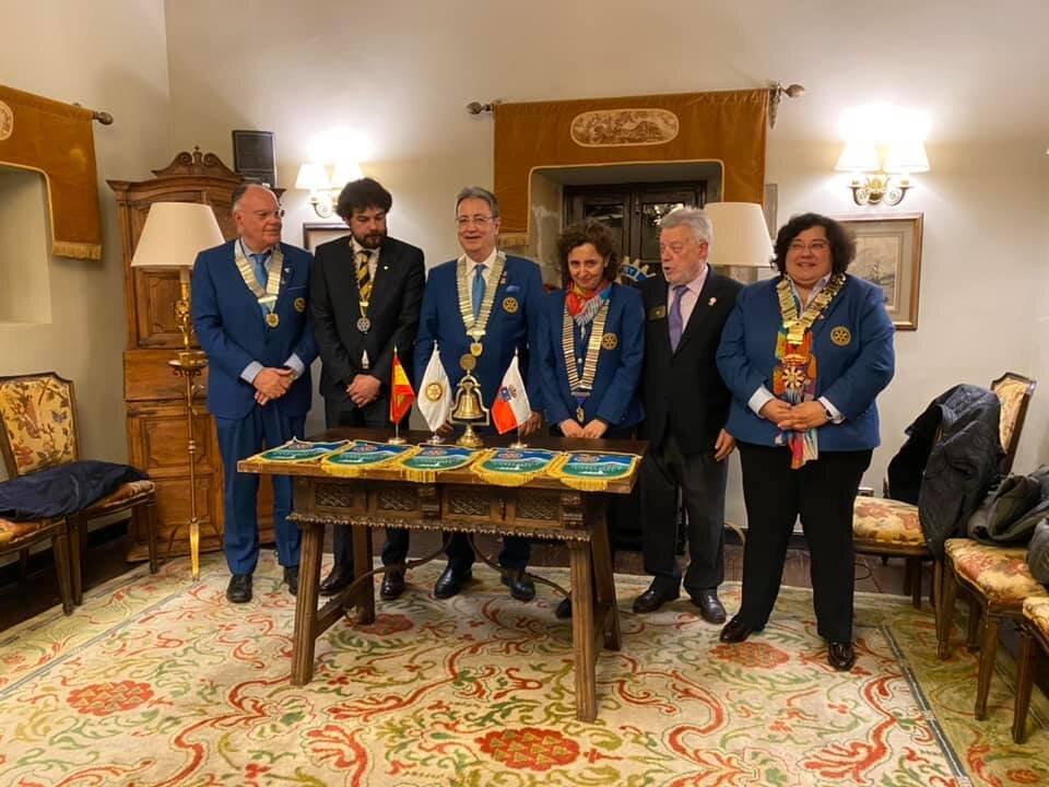 Visitas Oficiais conjuntas aos Clubes de Rotary do Norte de Espanha com os 3 Governadores de Rotary de Espanha