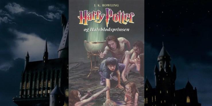 La edición danesa de  Harry Potter y el Príncipe Mestizo.