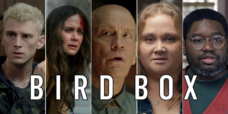 Znalezione obrazy dla zapytania bird box movie