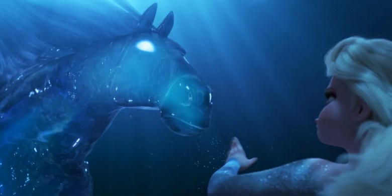 frozen II trailer - water horse