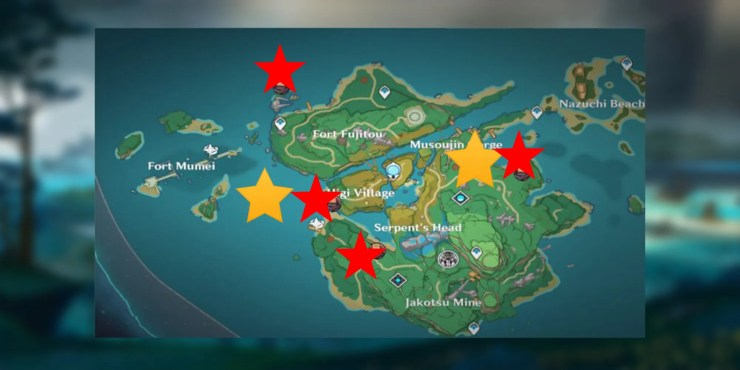To start the quest, head to yashiori island and find a small camp with a man named kaji. Genshin Impact Every Luxurious Chest Location In Yashiori Island