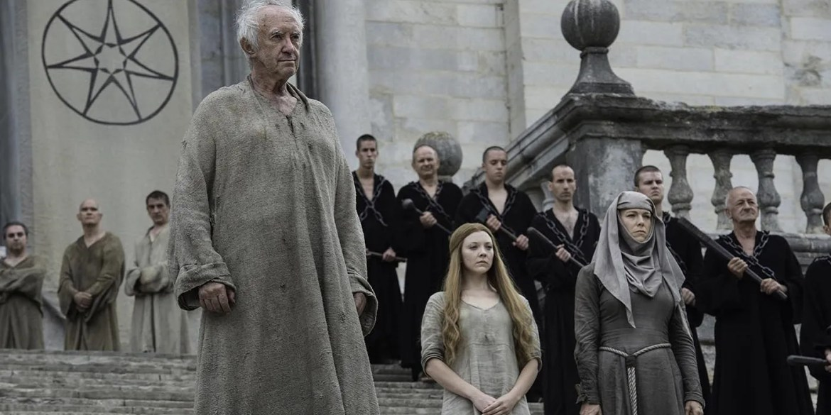 Queen Margaery and the High Sparrow in Game of Thrones