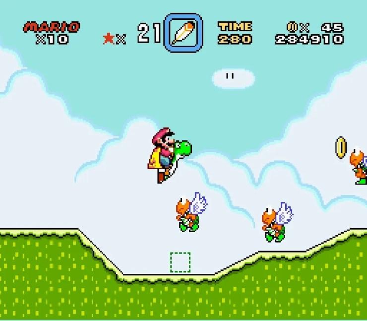 Vanilla Secret 2 Super Mario World
