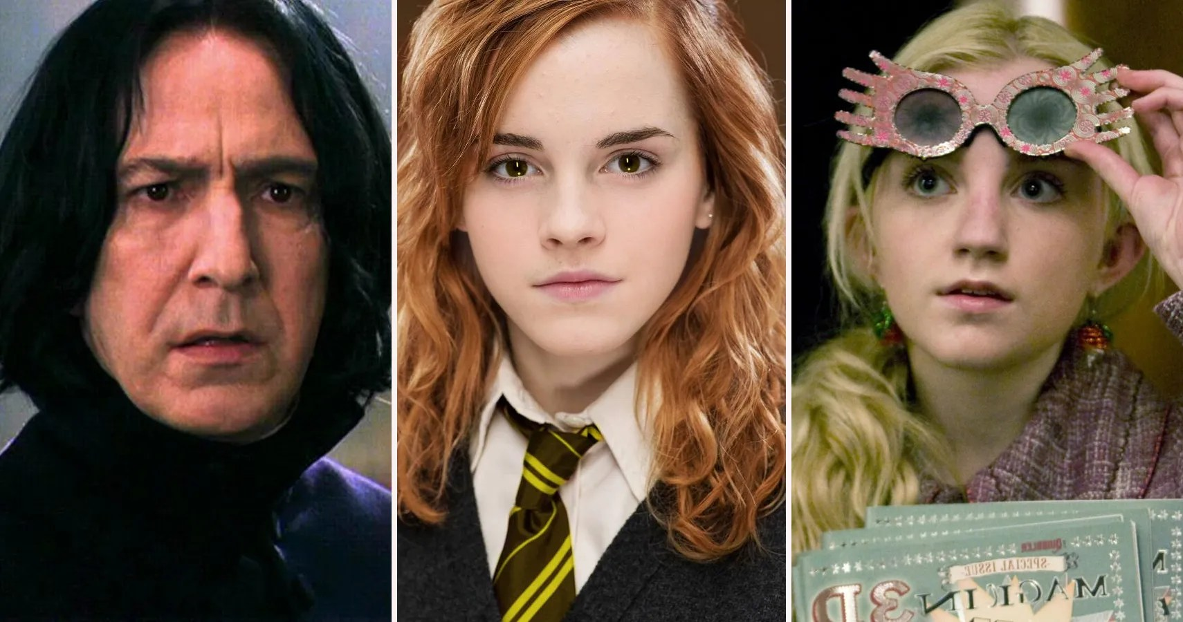 Harry Potter Characters Sorted Into Their True Hogwarts House