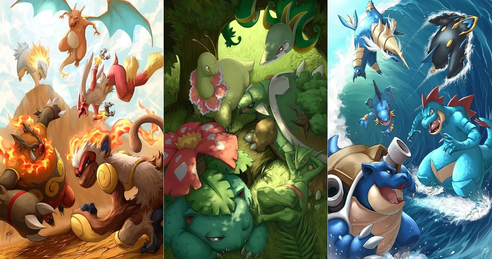 What Are All Main Types Pokemon