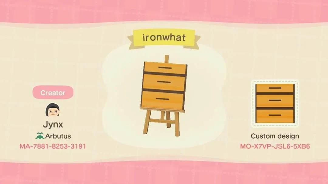 Animal Crossing: New Horizons - How To Make A Knock-Off ... on Ironwood Kitchen Animal Crossing  id=97817