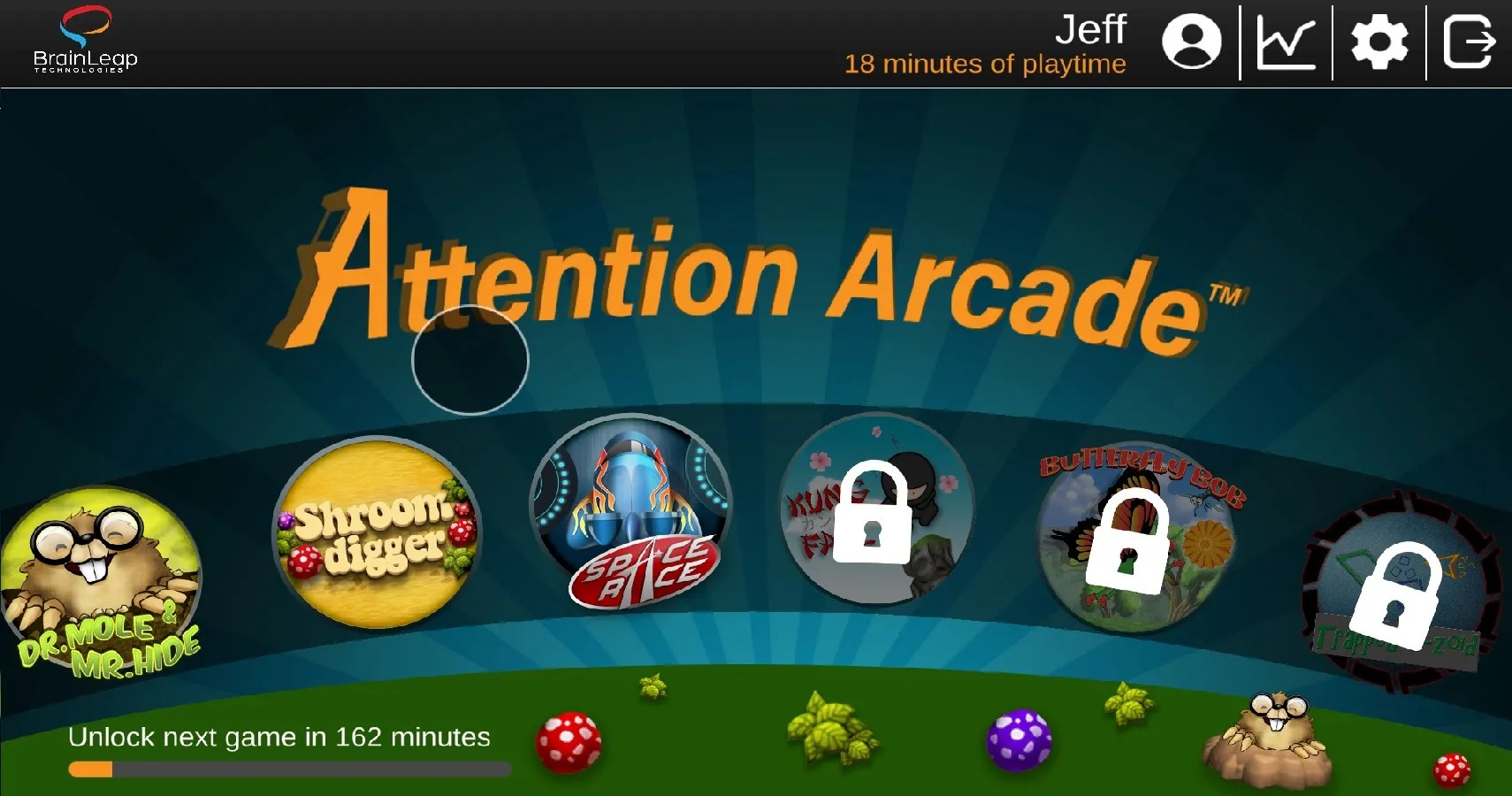 The Attention Arcade Is A New Gaming Platform That Helps Children ...