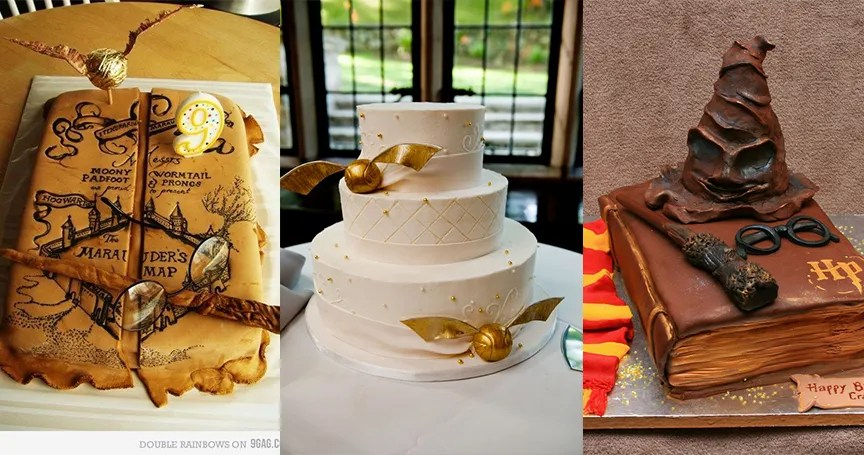 15 Jaw Droppingly Gorgeous Harry Potter Themed Cakes