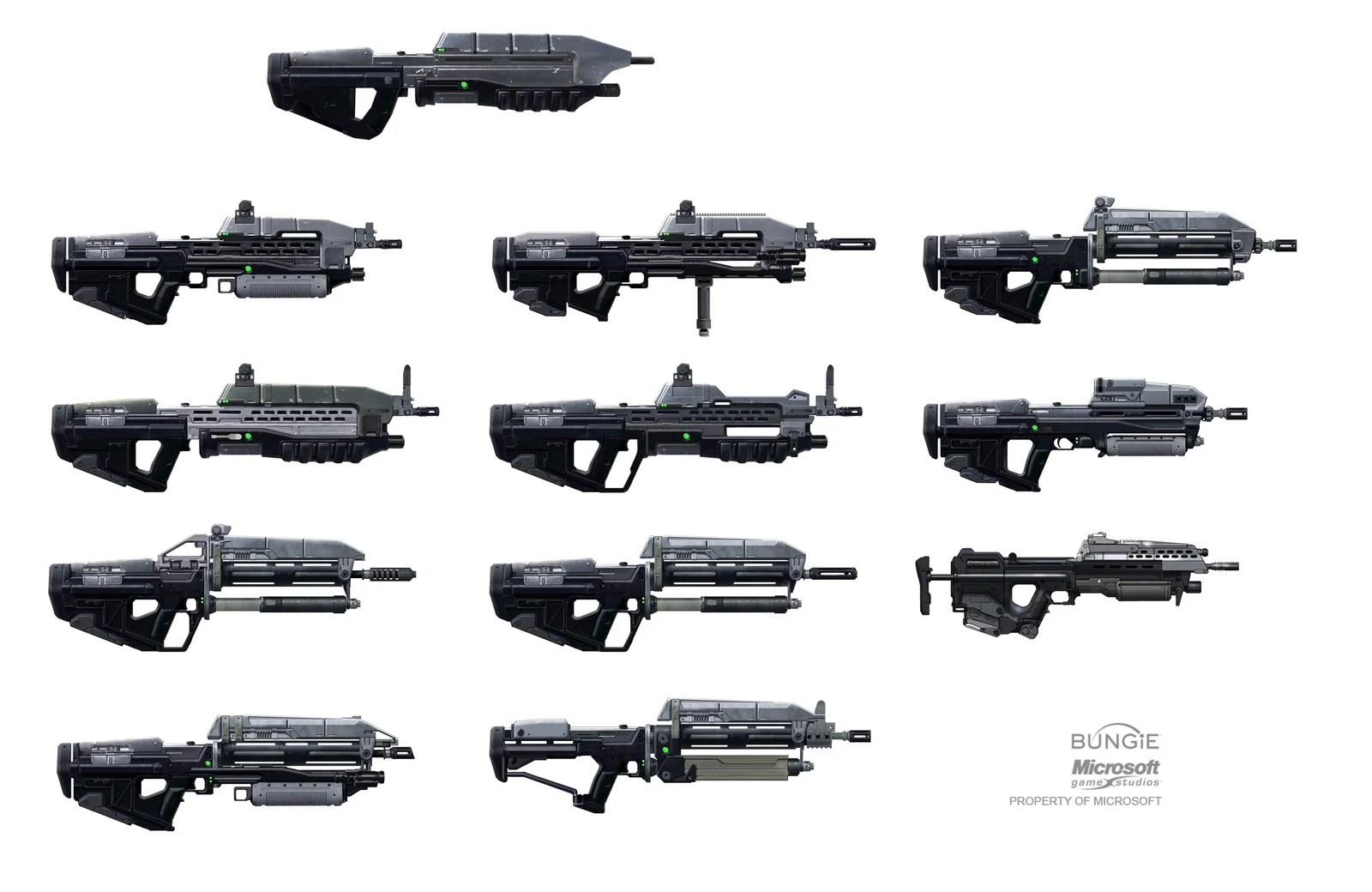 Various Looks For Loadout Guns