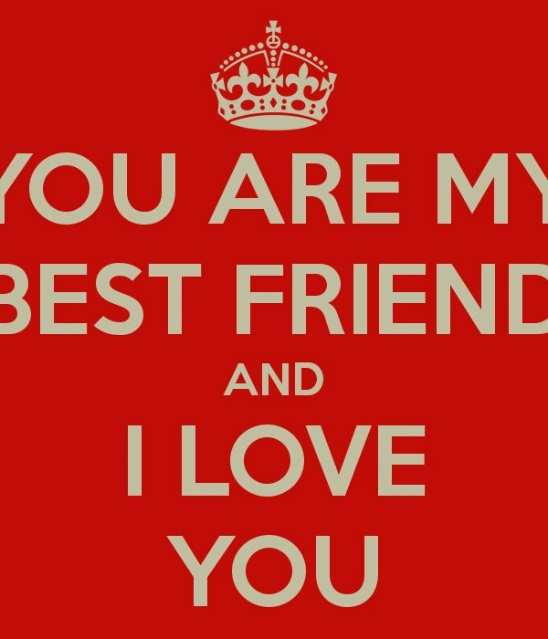 I Love You Friend Wallpaper Wallpapersjpg Com