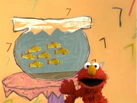 Fish Five Sesame Street