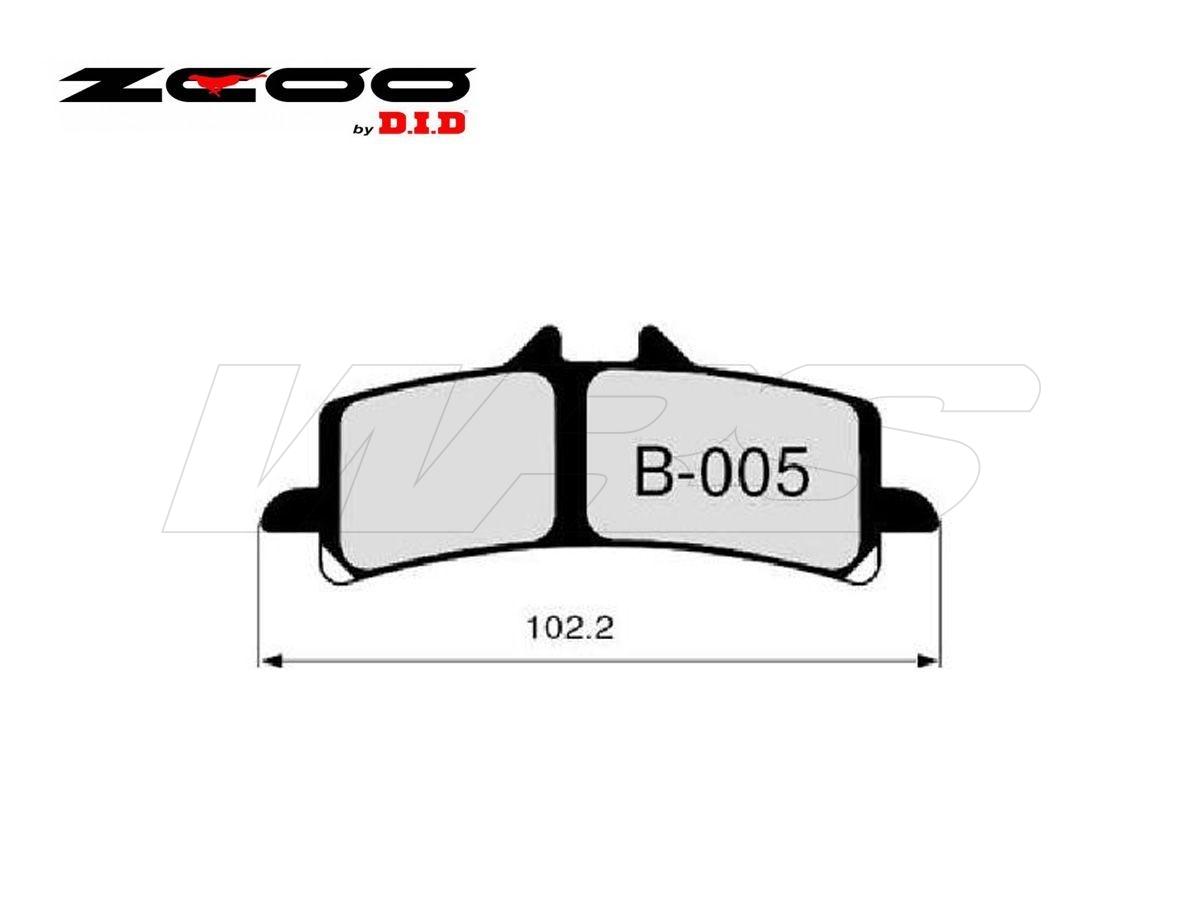 B005ex Set Pastiglie Freno Anteriore Zcoo B005ex Ktm