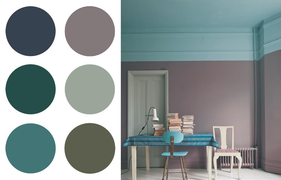 Fai da te, con il risultato di un immediato new look per gli ambienti interni,. 20 Idee Per Dipingere Le Pareti Di Casa