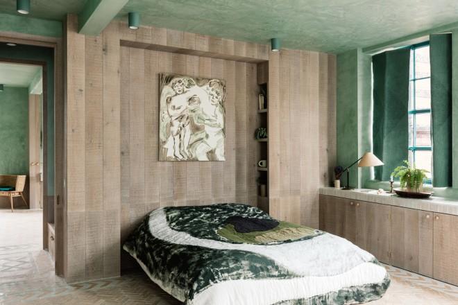 Immagine camera matrimoniale, stile contemporaneo, con pareti beige e testata del. Colori Pareti Per Camere Da Letto Moderne E Classiche Living Corriere
