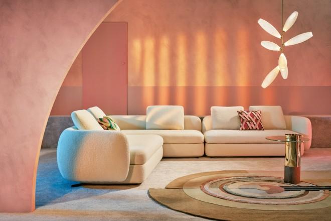 Quali sono le tendenze decor per imbiancare le pareti di casa? Pareti Rosa Abbinamenti E Consigli Dell Interior Stylist Living Corriere
