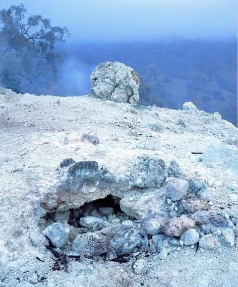 El fuego que arde sin parar desde hace 5.500 años