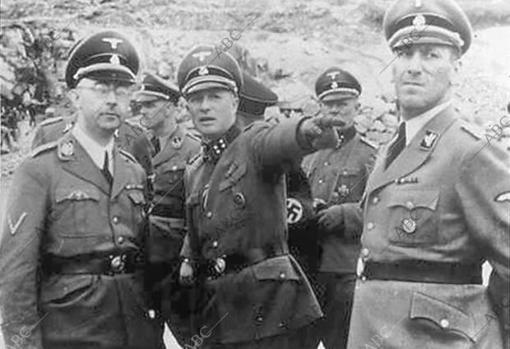 Heinrich Himmler, durante la Segunda Guerra Mundial