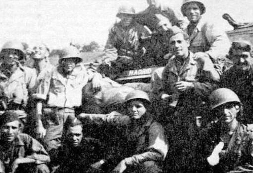 Spanish of the Nine in the Second World War
