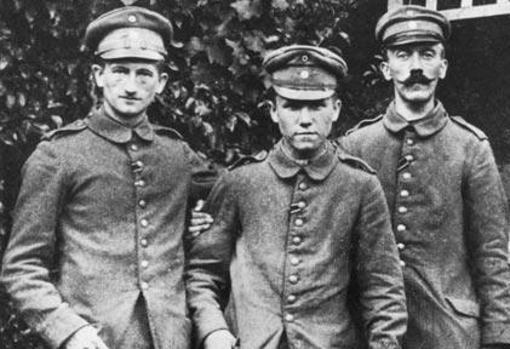 Adolf Hitler en la Primera Guerra Mundial