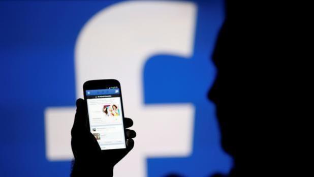 Visualización de la aplicación Facebook