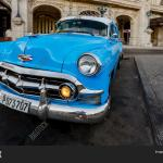 Blue Chevy Parked Image Photo Free Trial Bigstock