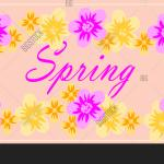 Spring Flower Vector Photo Free Trial Bigstock