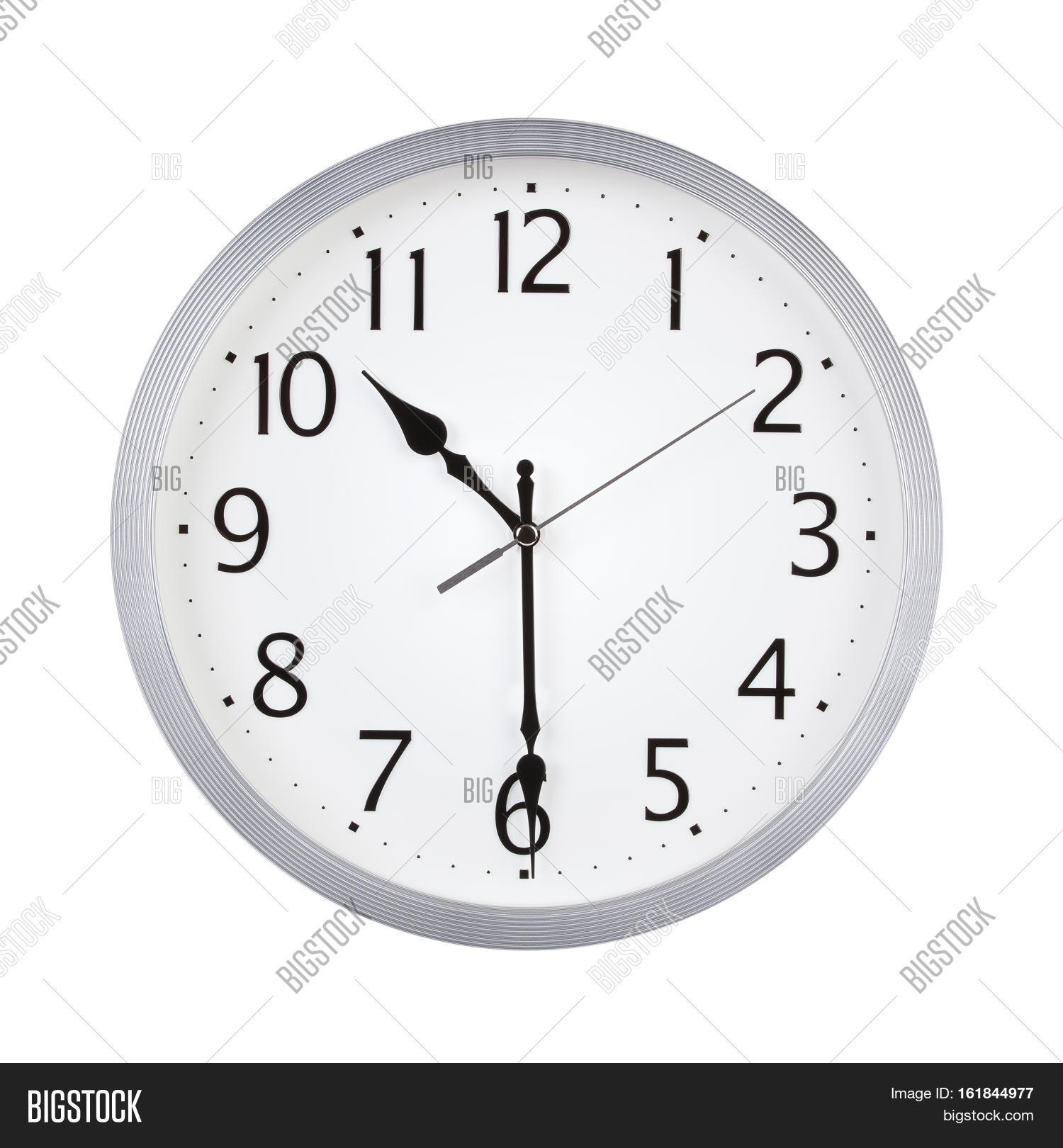 Half Past Ten O Clock On Dial Round Image Amp Photo