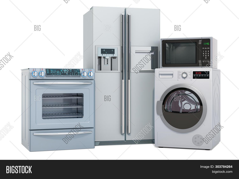 set silver kitchen image photo free