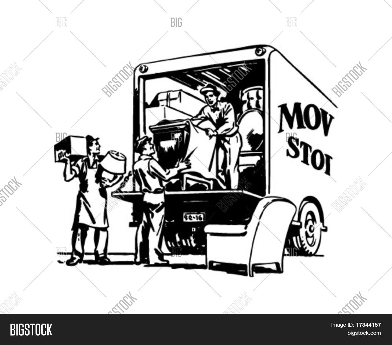 Packing Moving Van