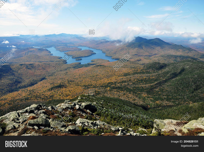 Schau mal, was deine freunde über whiteface mountain sagen. Lake Placid View Top Image Photo Free Trial Bigstock
