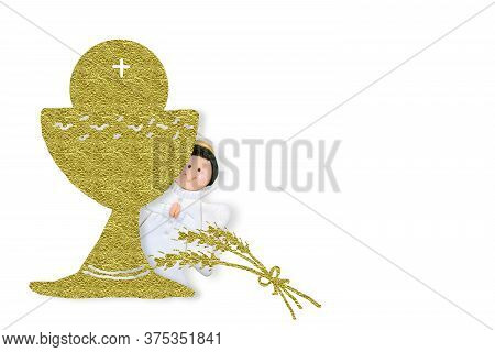 first holy communion image photo