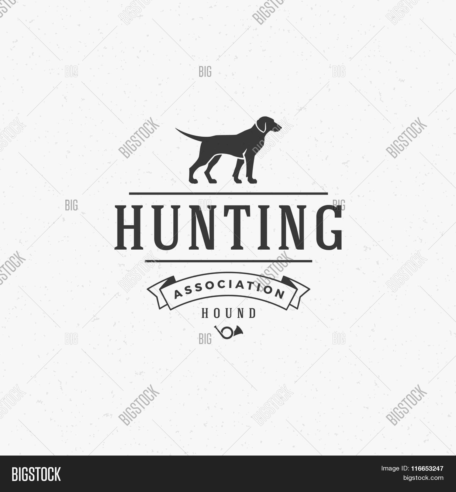 Vector Y Foto Hunting Club Logo Prueba Gratis