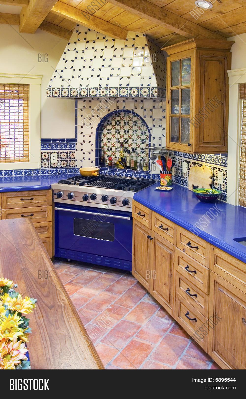 spanish style kitchen image photo