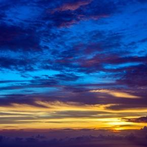 Clouds form as solar rays hit the stratosphere. Photo - Pixabay